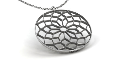 Necklace Chartres White