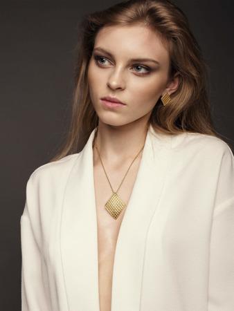 Halskette Chesterfield Golden