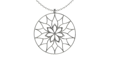 Halskette Yorkshire Weiß