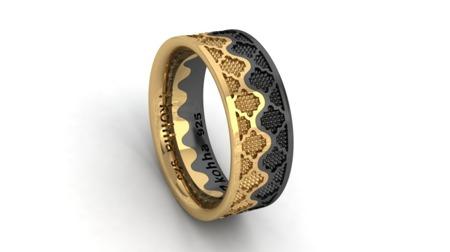 Ring Crown Gold