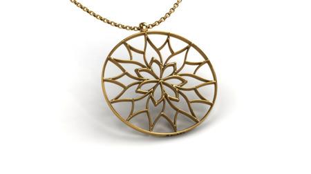 Naszyjnik pozłacany Yorkshire Gold